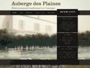 screenshot http://www.aubergedesplaines.com l'auberge des plaines - hotel en camargue