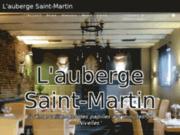 screenshot http://www.aubergesaintmartin.be/ auberge, restaurant et salle de banquet à nivelles - auberge saint martin