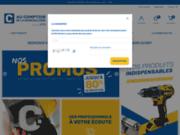 screenshot http://www.aucomptoirdelaquincaillerie.fr au comptoir de la quincaillerie