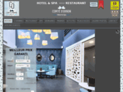 screenshot https://www.aucomtedornon.com/ Hôtel à Gradignan