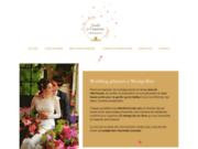 screenshot https://www.aude-a-lamour.com Wedding Planner Aude à l'amour