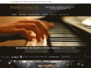 screenshot http://www.audigierpianos.fr accessoires piano