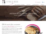 screenshot https://www.aupalaisdesdouceurs31.com/ boulangerie pâtisserie artisanale à Fronton 31620