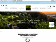 Produits à base de citrons de Menton