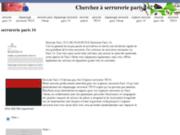 screenshot http://www.auteuil-plus.com auteuil+ entreprise de serrurerie