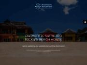 screenshot http://www.authenticsumatra.com authentic sumatra