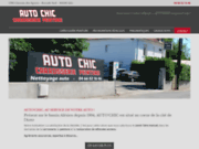 screenshot http://www.auto-chic.net/ lavage automobile