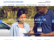 screenshot http://www.auto-ecole-bruno-ales.com auto école