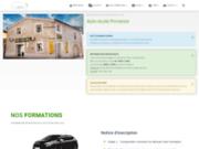 screenshot http://www.auto-ecole-provence.com auto école