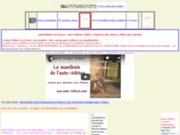 screenshot http://www.auto-edition.info auto-édition en france être son propre éditeur