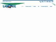 screenshot http://www.autocars-laborie.fr taxi et car du cantal