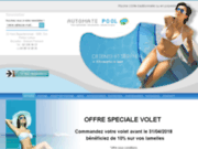 screenshot http://www.automatepool.be automate pool, spa et piscines de luxe