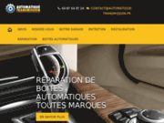 screenshot http://automatique-transmission.fr reconditionnement bva