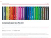 screenshot http://www.automatismes-electricite-33.fr installation vidéosurveillace saint-maixant 33