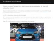 screenshot http://www.automobiles-duval-18.com/ garage-atelier auto à bourges, cher 18