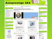 screenshot http://www.autoprestige-4x4.fr/catalog.php autoprestige-4x4 specialiste accessoires tout terr