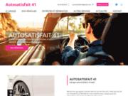screenshot https://www.autosatisfait41.com/ garage auto toutes marques à Onzain 41150 près de Blois