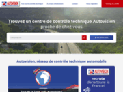 screenshot http://www.autovision.fr contrôle technique automobile