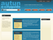 screenshot http://www.autun.org autun e-cityguide