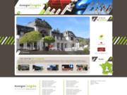 screenshot http://www.auvergnecongres.com centres de congrès, séminaires et salons d'auvergne