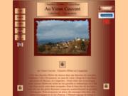 screenshot http://auvieuxcouvent.lensys.fr au vieux couvent - chambre d'hôtes en languedoc