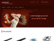 screenshot http://www.auvisio.fr auvisio, la technologie au service du son et de l'