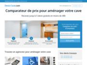 screenshot http://www.aux100vins.fr Aux 100 Vins
