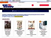screenshot http://www.auxbleuets.fr aux bleuets : le paradis des artistes et des créateurs