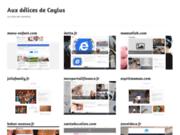 screenshot http://www.auxdelicesdecaylus.fr aux délices de caylus