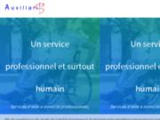 screenshot http://www.auxiliaris.fr aide à domicile pour les personnes âgées