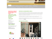 screenshot http://www.auxmenuiseriescomted.com menuiserie.mobilier.porte.