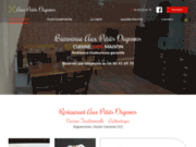 screenshot https://www.auxpetitsoignons31450.com restaurant à Ayguesvives 31450