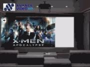 screenshot http://www.avance-video.com/ projecteurs optoma distribués par avance vidéo hd