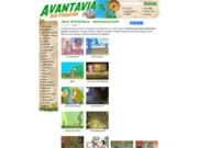 screenshot http://www.avantavia.com jeux rpg
