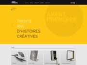 screenshot http://www.avantpremiere.fr Avant première – Communication graphique et design Lyon