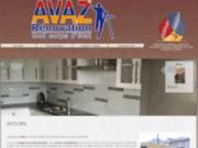 screenshot http://www.avaz.fr avaz– rénovation d'intérieur meudon 92, aménagement