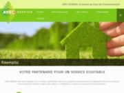 screenshot http://www.avecservice.com recyclage de dechets