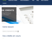 screenshot http://www.avenir-conseil.net avenir conseil - simulation rachat de credits