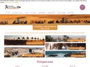 screenshot http://www.aventure-authentique.fr/ Circuit Maroc en 4x4