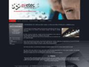 screenshot http://www.avetec-agencement.fr/menu.html agencement professionnel, avetec professionnel de