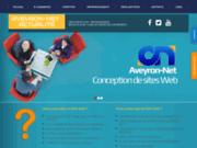 screenshot http://aveyronnet.com aveyron-net création internet, conception et réalisation de sites web