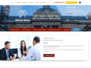screenshot http://www.avocat-blond.com avocat pénal paris
