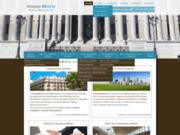screenshot http://www.avocat-bracq.com/ avocat rédaction des actes, occupation du domaine
