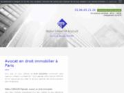 Avocat en droit immobilier à Paris