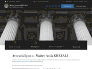 screenshot https://www.avocat-ghezali.fr/ avocat