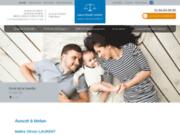 screenshot http://www.avocat-laurent.com/ avocat droit pénal seine-et-marne : exécution des