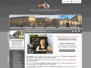 screenshot http://www.avocat-metz-defranoux.fr Cabinet d'avocat sur Metz, Thionville, Sarreguemines, Moselle