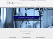 screenshot https://www.avocat-perigueux-mouillac.fr Maitre Mouillac intervient en droit du travail de la famille et pénal.