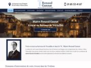 Renaud Gannat, avocat au Barreau de Versailles