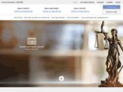 screenshot http://www.avocat-tricart.com/ avocat end roit fiscale belgique